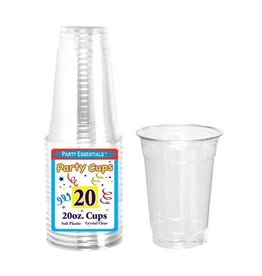 northwest 20oz. Clear Party Cups - 20 Ct.