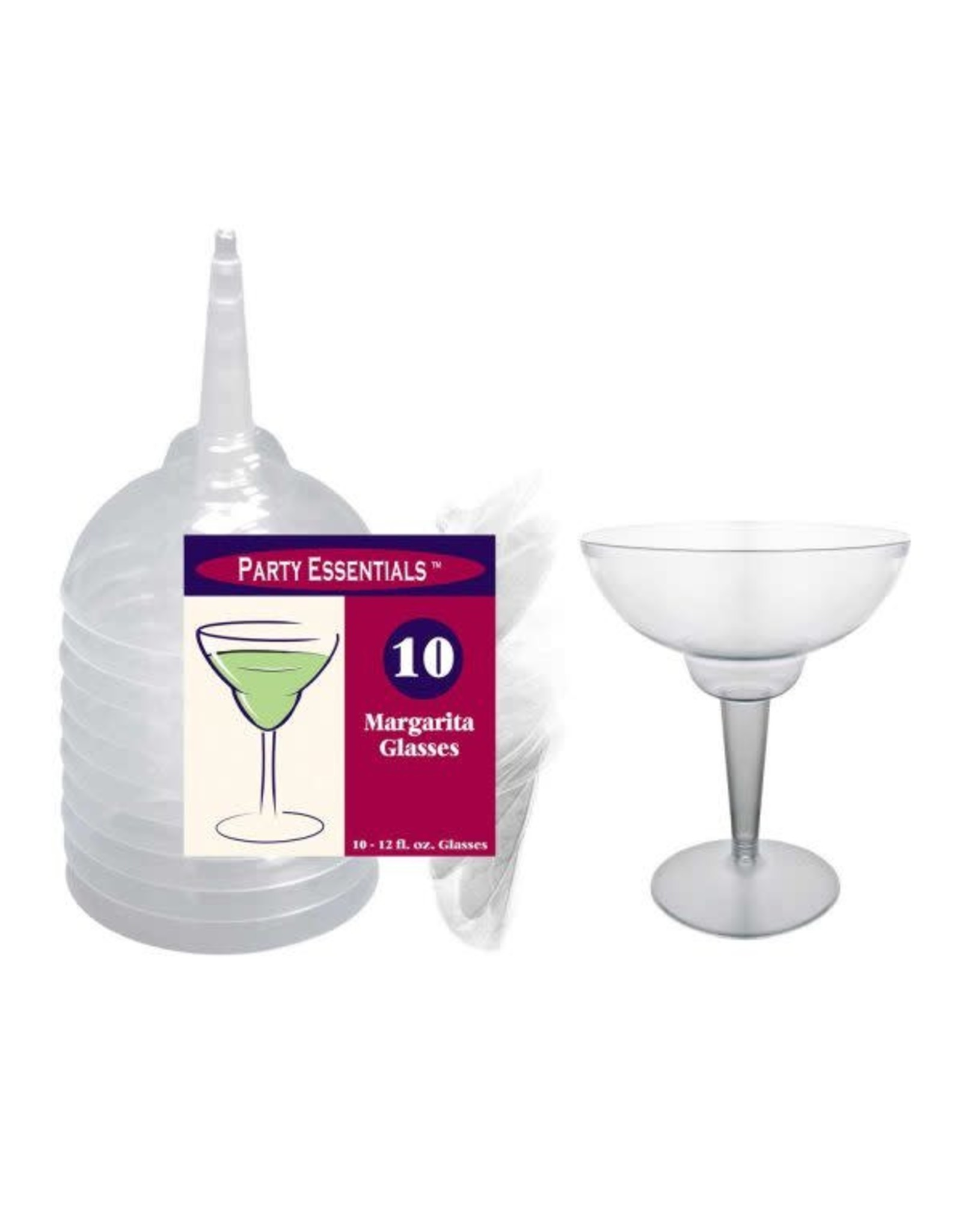 northwest 12oz. Clear Margarita Glasses 2pc. - 10 Ct.