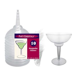 northwest 12oz. Clear Margarita Glasses 2pc. - 10 Ct.