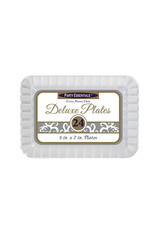 """northwest 5""""x7"""" Clear Appetizer Plates - 24ct."""