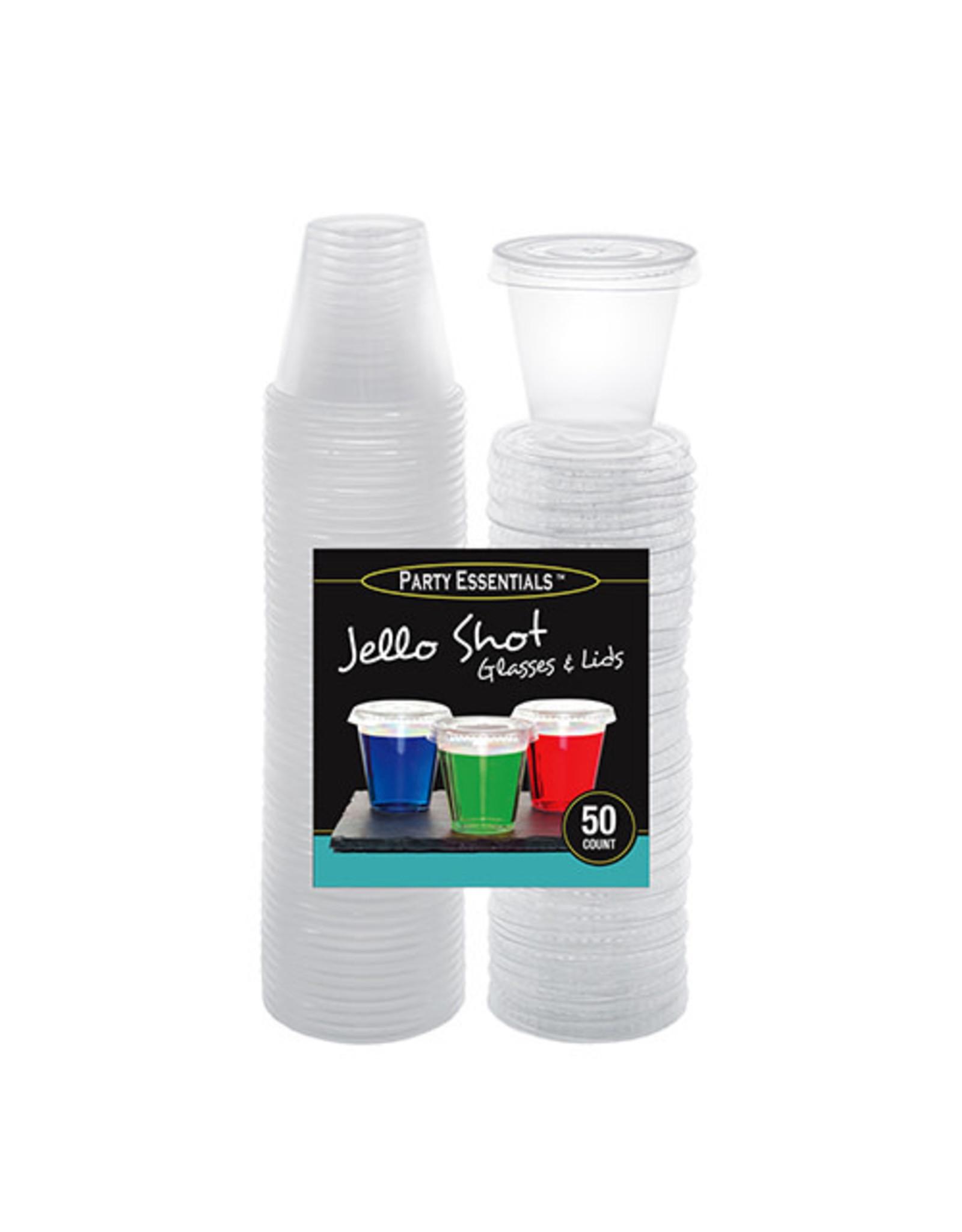northwest 2oz. Jello Shot Glasses w/ Lids - 50ct.