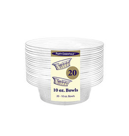 northwest 10 oz. Clear Deluxe Bowls - 20 Ct.