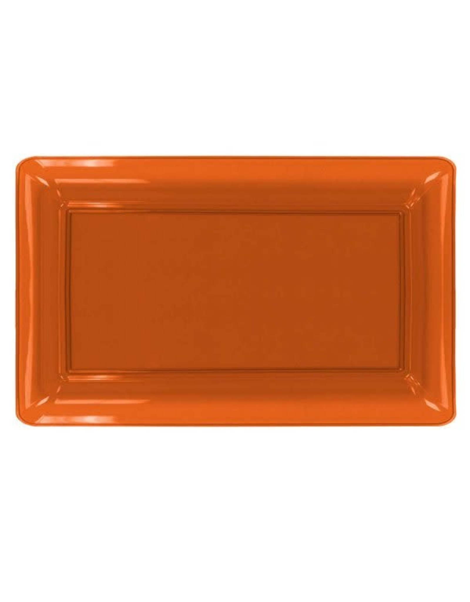 """northwest Neon Orange Serving Tray 12""""x18"""""""