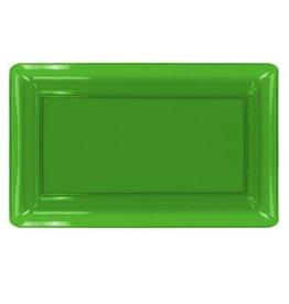 """northwest Neon Green Serving Tray 12""""x18"""""""