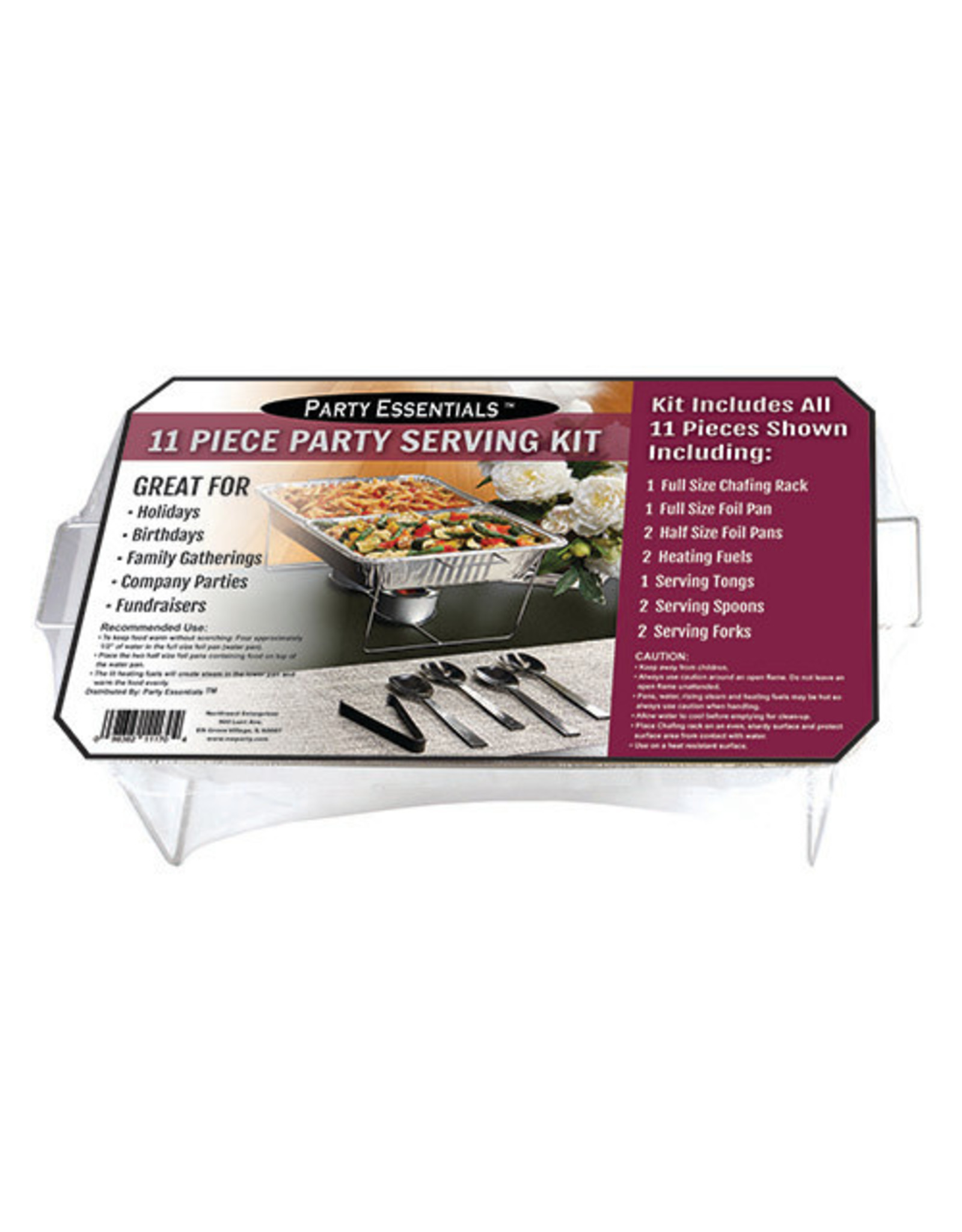 northwest 11 Pc. Party Serving Kit