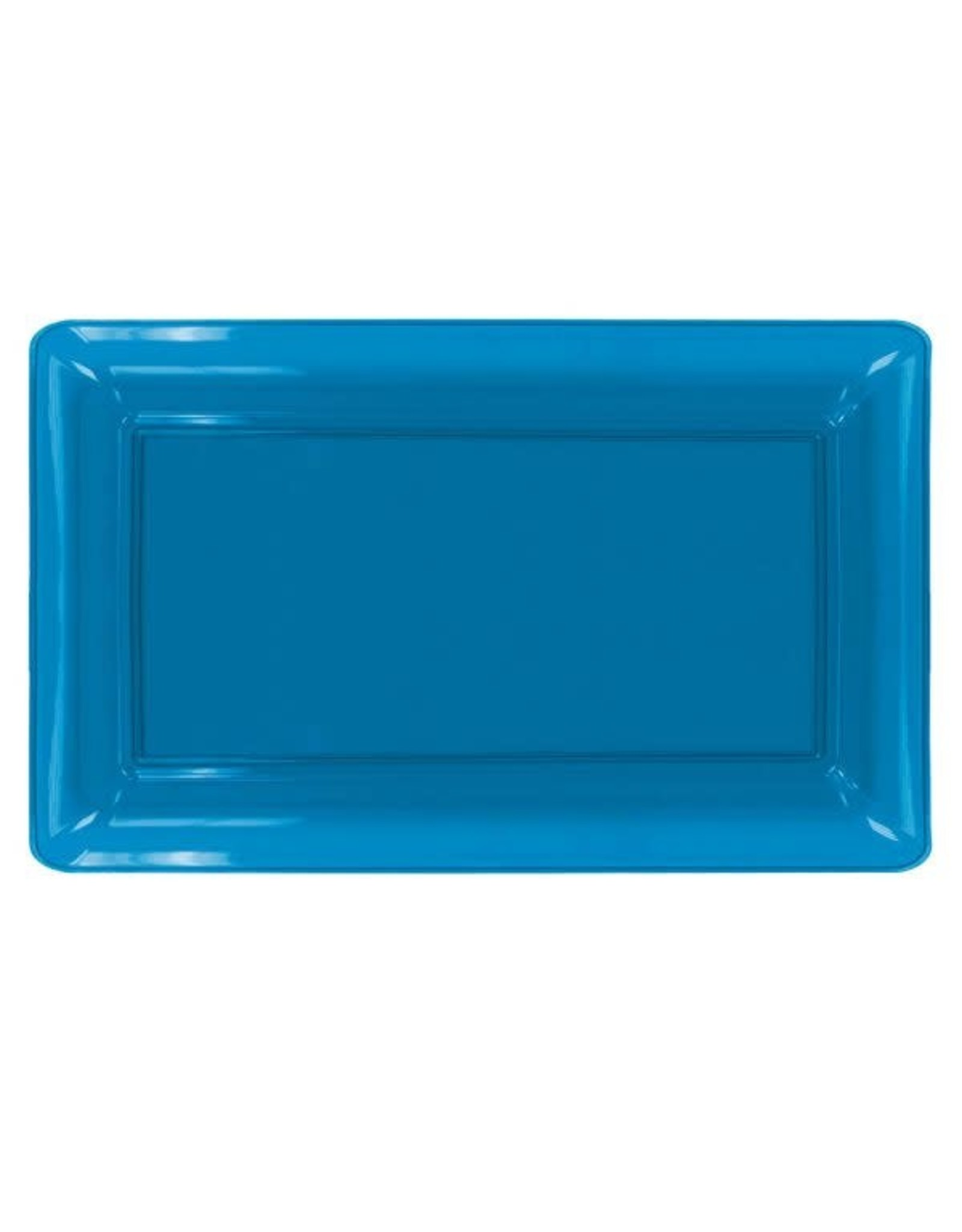 """northwest Neon Blue Serving Tray 12""""X18"""""""