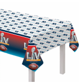 Amscan Super Bowl LV Tablecover