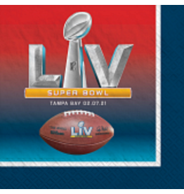 Amscan Super Bowl LV Bev Napkins - 16ct.
