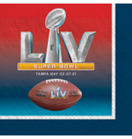 Amscan Super Bowl LV Lunch Napkins - 16ct