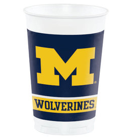COLLG U of M 20oz Cups - 8ct.