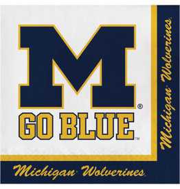 COLLG U of M Lunch Napkins - 16ct.