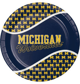 "COLLG U of M 9"" Plates - 8ct."