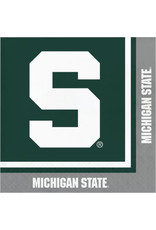COLLG MSU Lunch Napkins - 20ct.