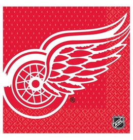 DesignWare Detroit Red Wings Lun. Napkins - 16ct.