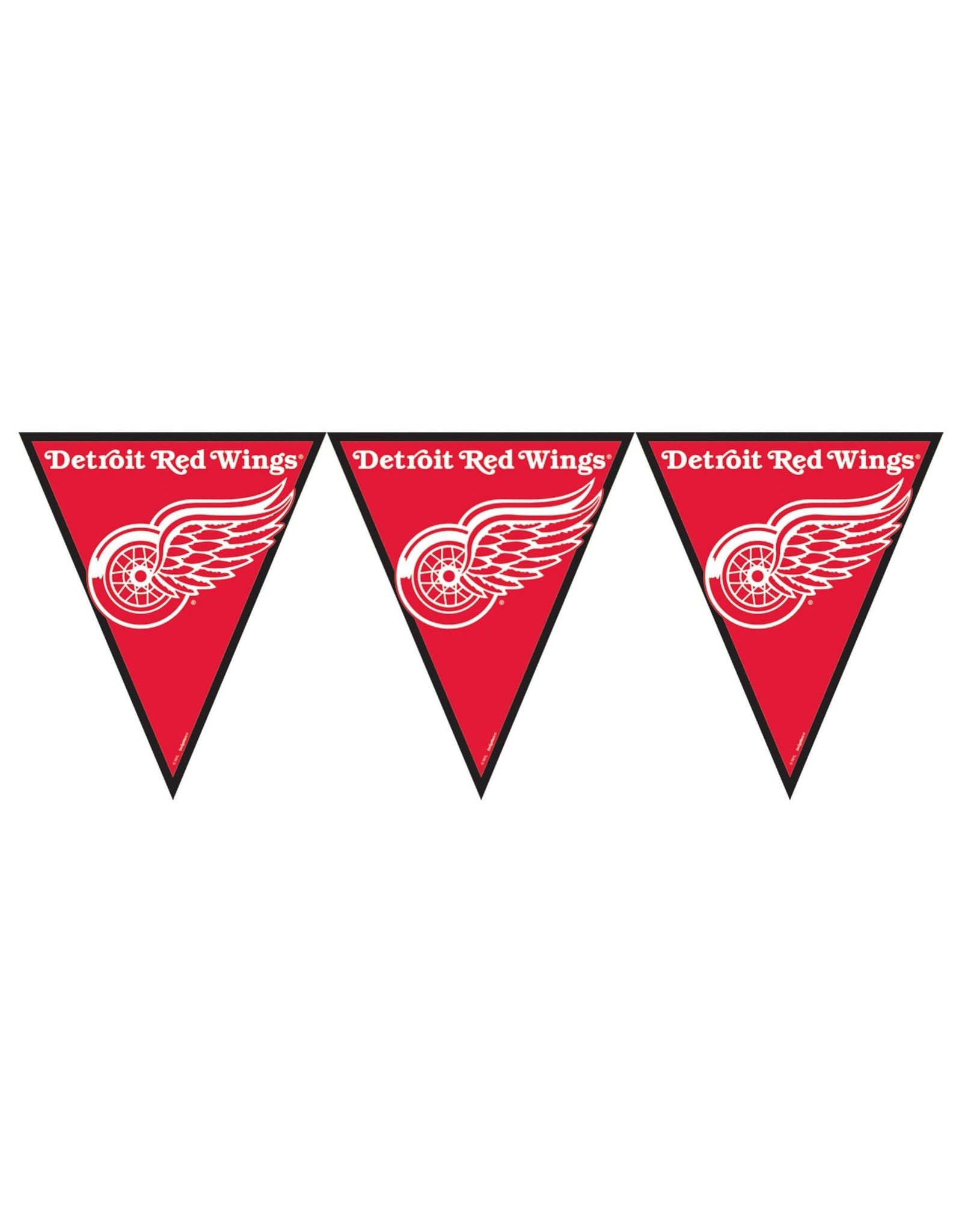 DesignWare Detroit Red Wings Pennant Banner - 12ft.