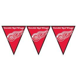DesignWare Detroit Red Wings Pennant Banner - 12ft.