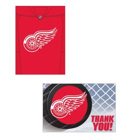 DesignWare Detroit Red Wings Inv. & TY Set - 8ct.