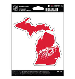 Rico Industries Detroit Red Wings State Sticker - 1ct.
