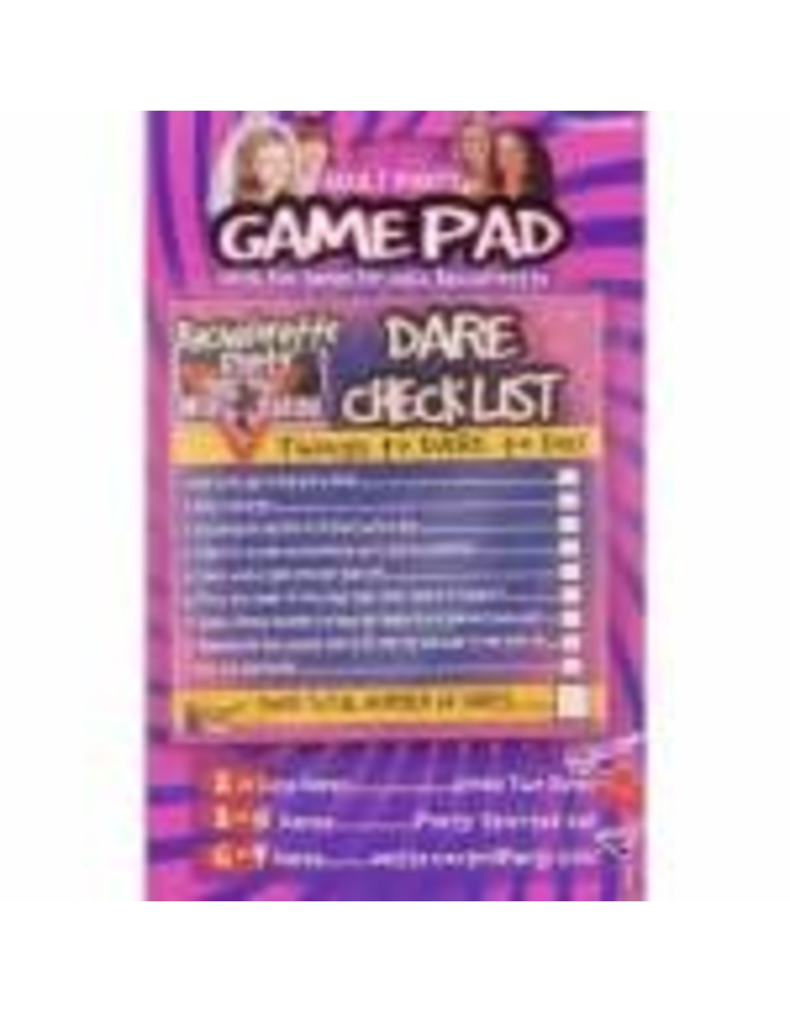 forum Bachelorette 'Do You Dare?' Party Game -