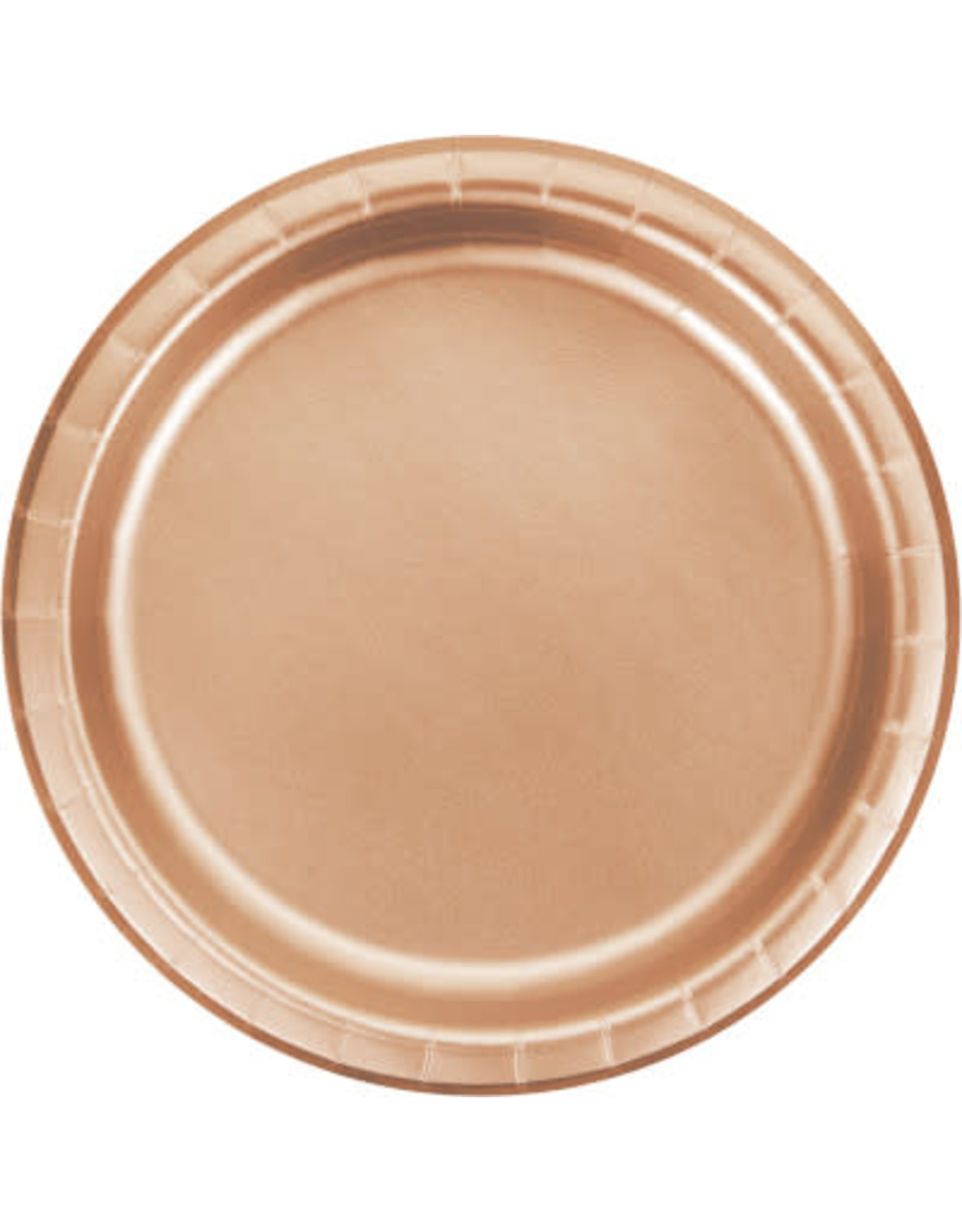 """TOC 7"""" Rose Gold Plate - 8ct."""