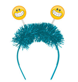 creative converting Smiling Emoji Flashing Headband