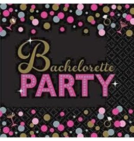 Amscan Bachelorette Night Bev. Napkins - 16ct.