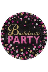 "Amscan Bachelorette Night 7"" Plates - 8ct."
