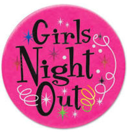 Beistle Girls Night Out Satin Button