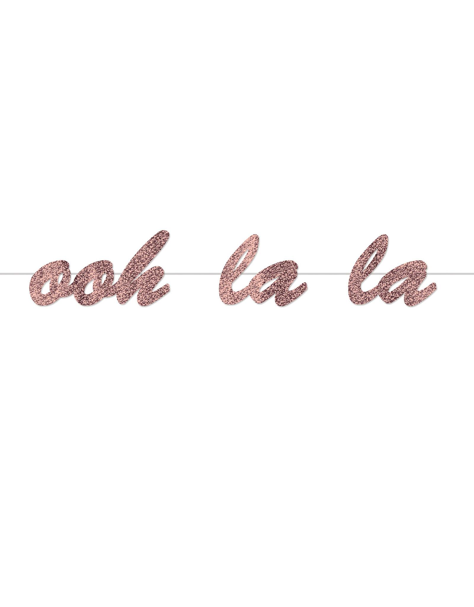 Beistle Ooh-La-La Banner - 4ft.
