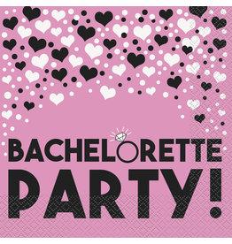 unique Bachelorette Party Lunch Napkins - 16ct.