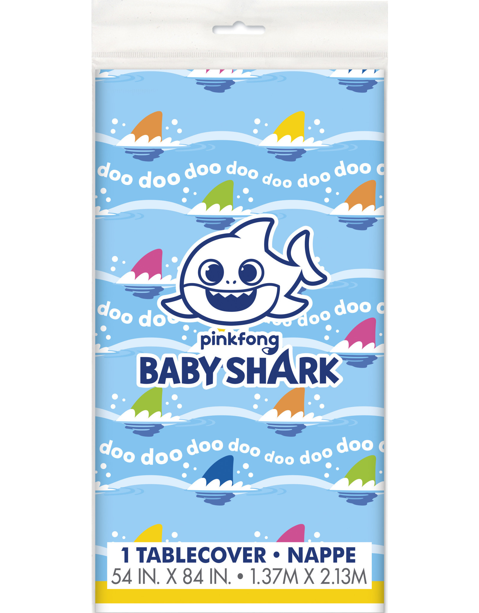 unique Baby Shark Tablecover