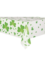 "unique Lucky Shamrock Tablecover (54"" x 84"")"