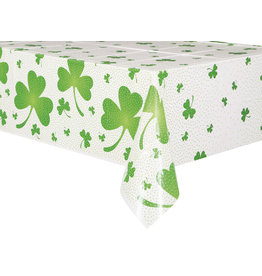 """unique Lucky Shamrock Tablecover (54"""" x 84"""")"""