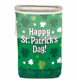 Amscan St. Patrick's  Pop-UpTrash Bin
