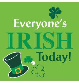 Party Creations Everyone's Irish Today Bev. Napkin - 18ct.