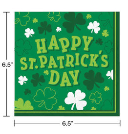 Party Creations Shamrocks Lunch Napkins - 16ct.