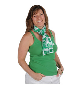 Beistle Shamrock Party Scarf
