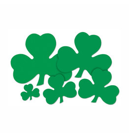 Beistle Shamrock Cutout - 5""