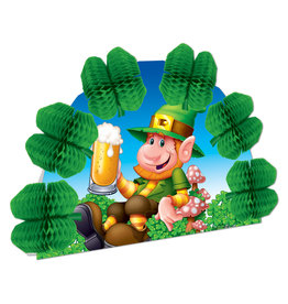 Beistle Leprechaun 3-D Centerpiece