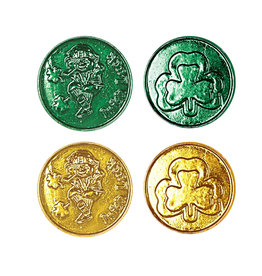 Beistle Lucky Leprechaun Coins - 40ct.