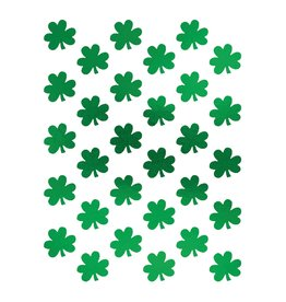 Amscan Shamrock Sticker Sheet - 3ct.