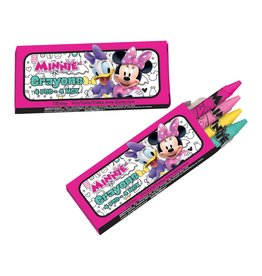 Amscan Minnie Mouse Crayons - 12ct.