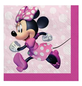 Amscan Minnie Mouse Forever Bev. Napkins - 16ct.