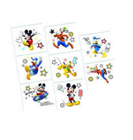 Amscan Mickey On The Go Tattoos - 8ct.
