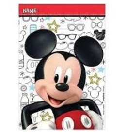 Amscan Mickey On The Go Loot Bags - 8ct.