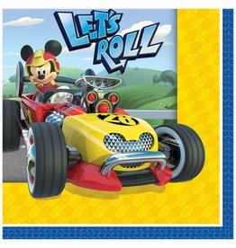 Amscan Mickey Roadster Bev. Napkins - 16ct.