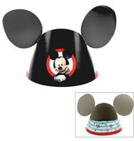 Amscan Mickey On The Go Party Hats - 8ct.