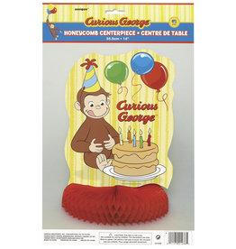 unique Curious George Centerpiece  - 1ct.