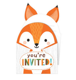 Party Creations Wild One Popup Invites - 8ct.