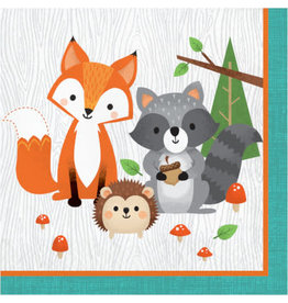 creative converting Wild One Lunch Napkins - 16ct.